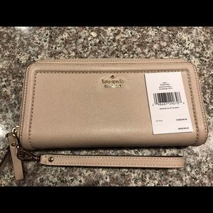 Kate Spade NWT Double Zip Wallet